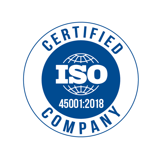 Circular Certified ISO 45001:2018 Company Certificate
