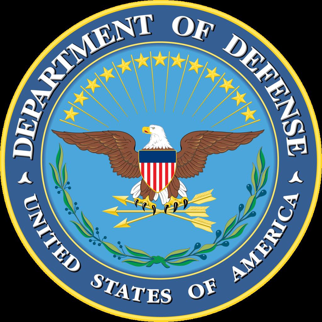 Circular US Department of Defense Seal