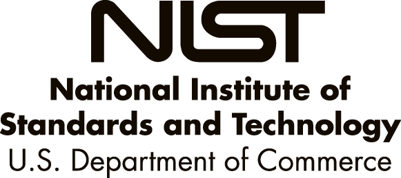 NIST National Institute of Standards and Technology, US Department of Commerce standards Logo